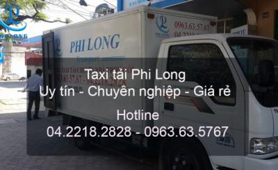 Taxi tải giá rẻ Phi Long từ đường Thạch Bàn đi Hải Phòng